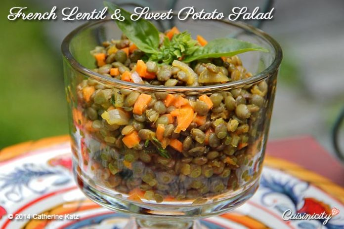 French Lentil and Sweet Potato Salad 3