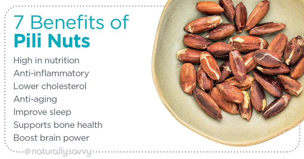 Benefits of Pili Nuts