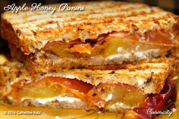 Apple Honey Panini 2