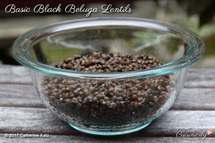 Back to Basics: Black Beluga Lentils 2