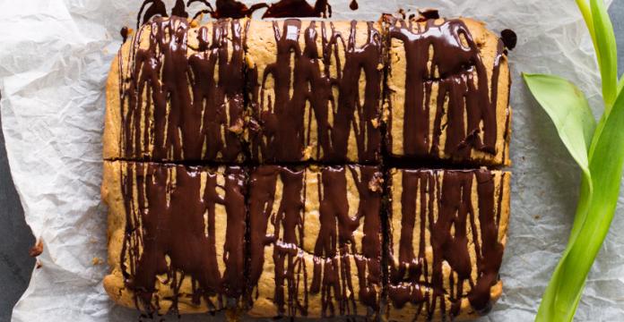 Chocolate Peanut Butter Quinoa Bars Recipe (Nut-free Option)