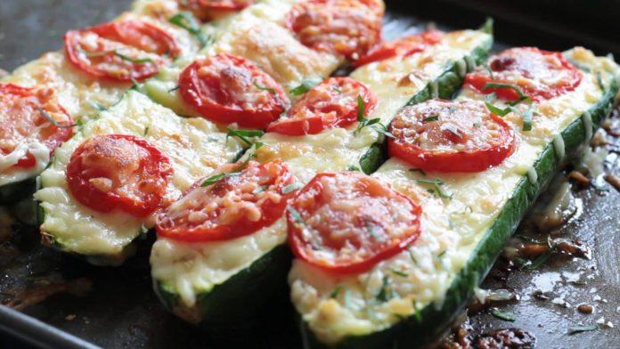 Wheat-Free Baked Zucchini Pizza Recipe 1