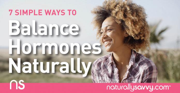 7 Simple Ways to Balance Hormones Naturally