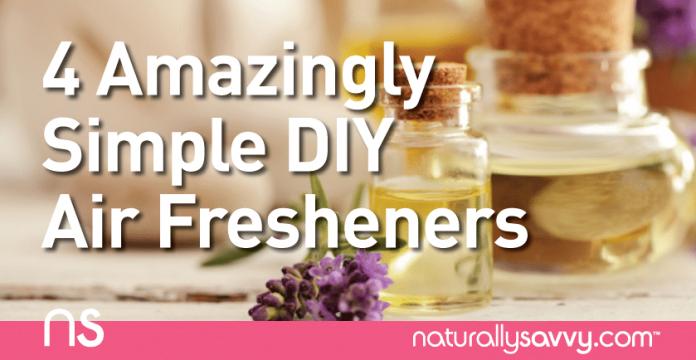 4 Amazingly Simple DIY Air Freshener Recipes
