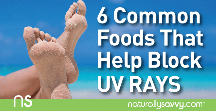 6 Common Foods That Help Block UV Rays
