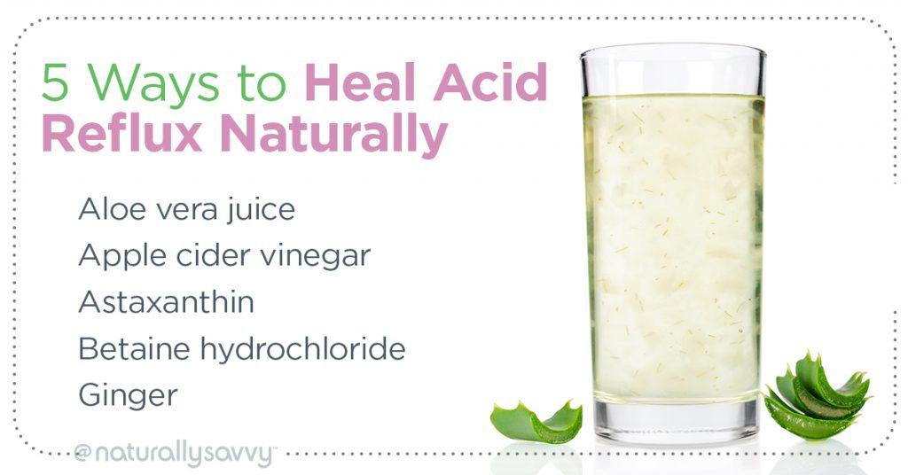 Ways to Heal Acid Reflux