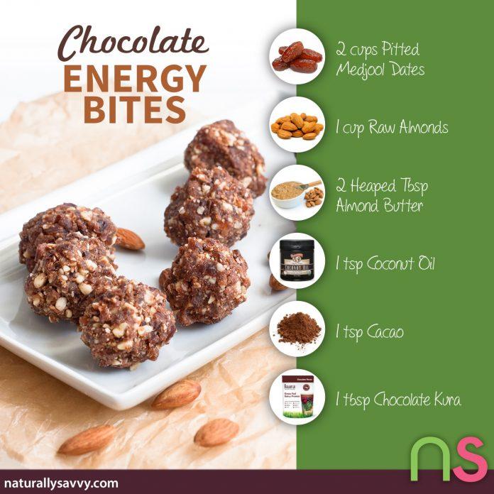 Chocolate Energy Bites 2