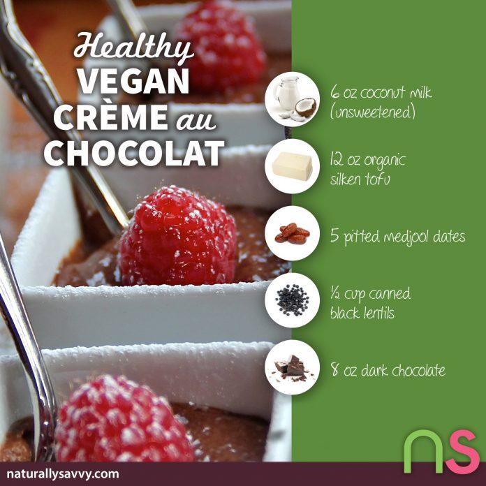 Healthy Vegan Crème au Chocolat Recipe