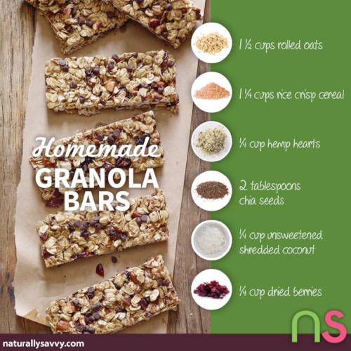 Homemade Granola Bars Your Way 2