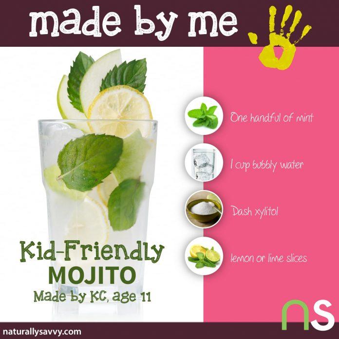 Made by Me: Kid-Friendly Mojito Recipe