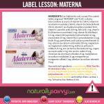 [Label Lesson] Materna