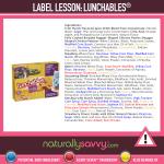 [Label Lesson] Lunchables