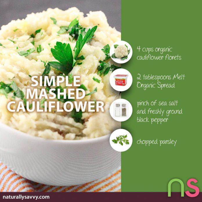 Simple Mashed Cauliflower Recipe