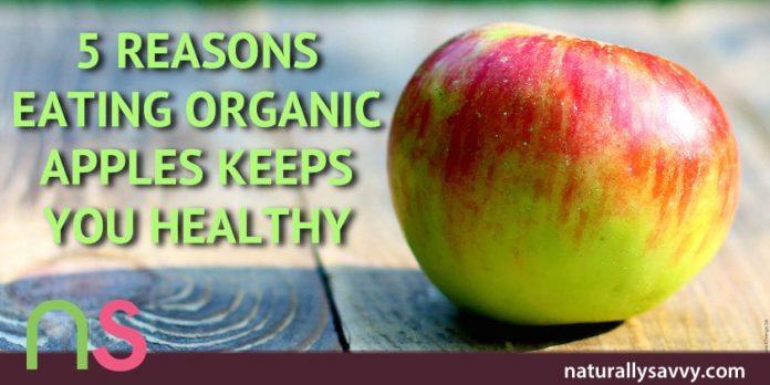 5 Reasons Eating Organic Apples Keeps You Healthy