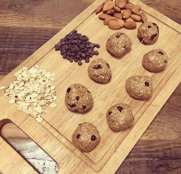 No Bake Cookie Dough Bites Recipe 2