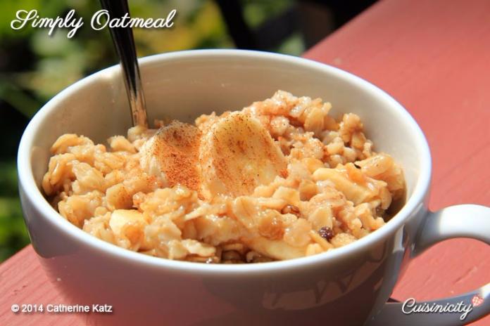 Simply Oatmeal Recipe 2