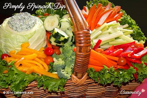 Simply Spinach Dip Recipe 2