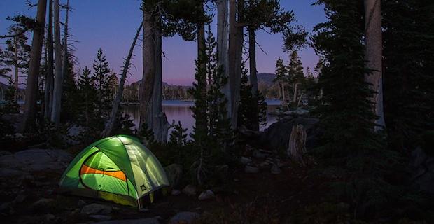 Camping: Go Green, Tread Lightly