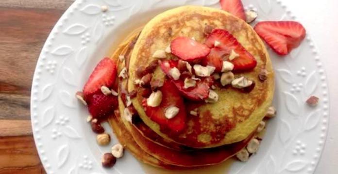 Fluffy Egg Banana Pancakes Recipe