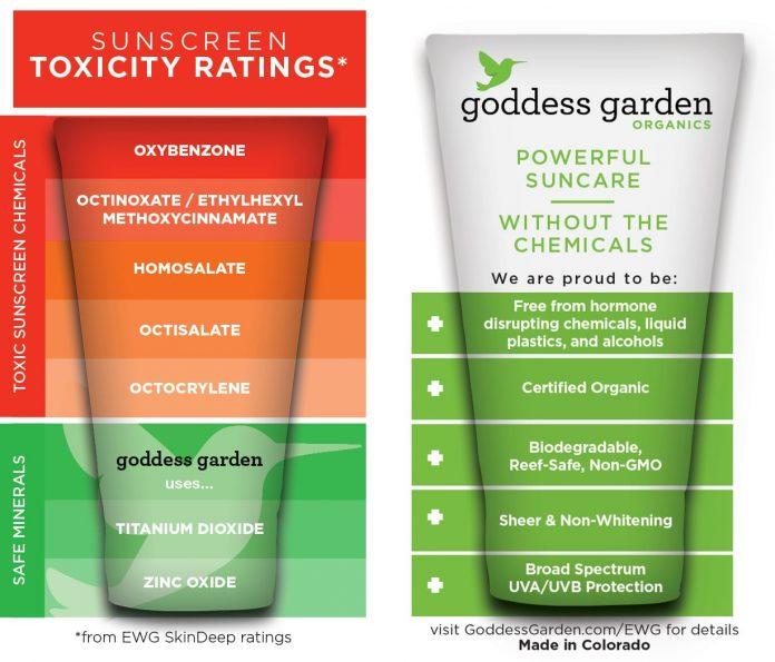 Goddess Garden Sunscreens: Minerals Rock! Chemicals, Not So Much 3