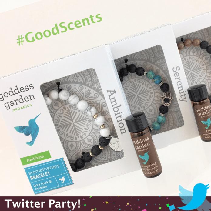 Goddess Garden Makes #GoodScents Twitter Party
