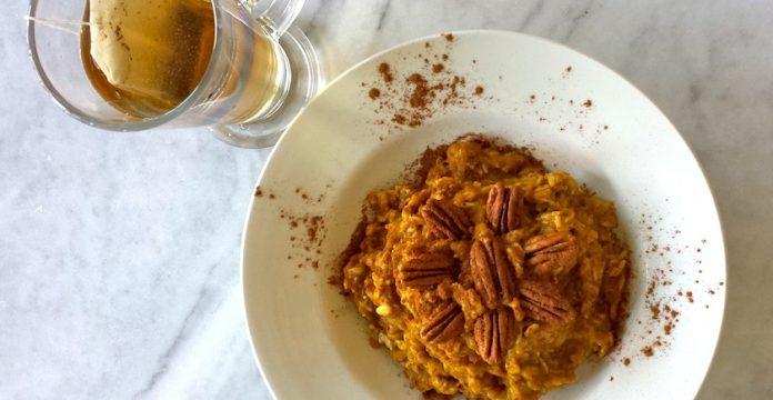 Pumpkin-Pie Oats Recipe
