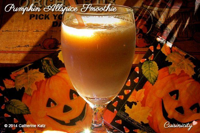 Pumpkin Spice Smoothie 2