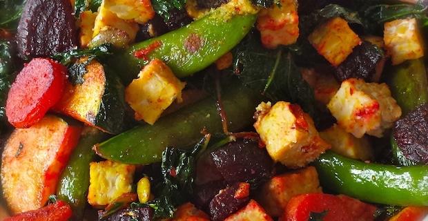Rainbow Stir-Fry Recipe