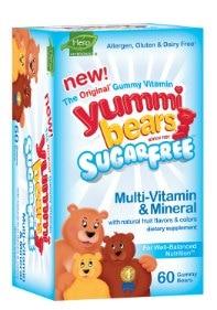 Sugar Free Gluten Free Gummy Vitamins