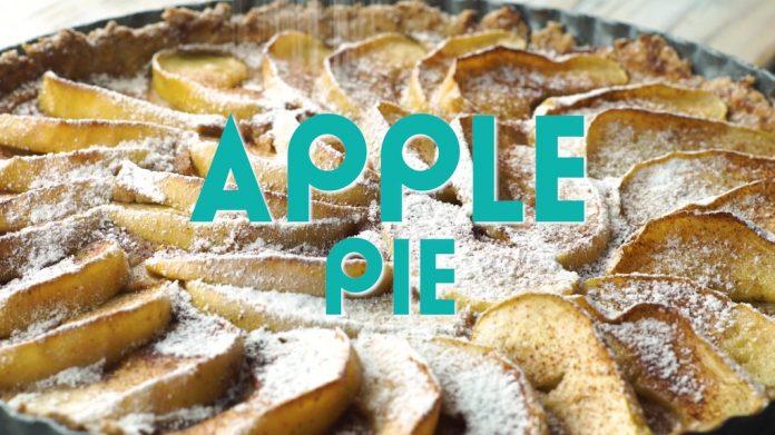 Vegan Golden Apple Pie