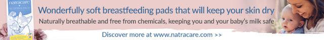 Natracare Breastfeeding Pads