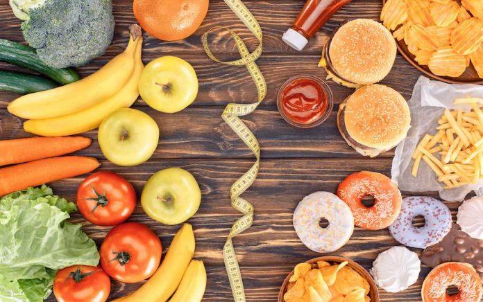unk food versus healthy food