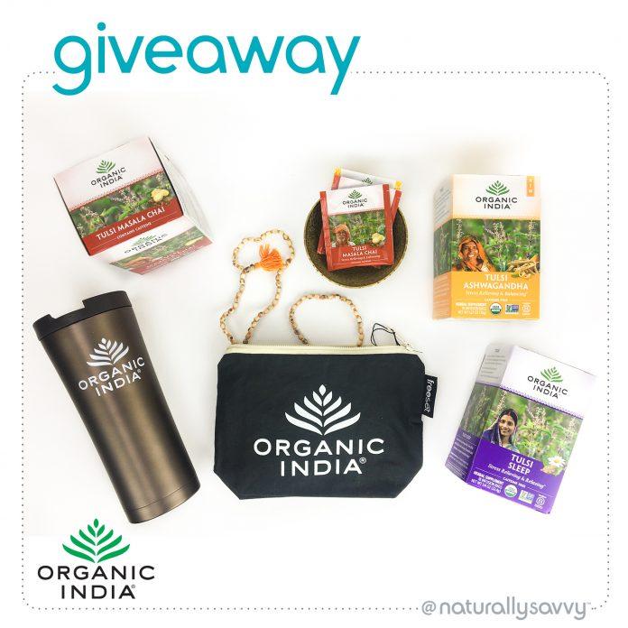 Organic India Tulsi Giveaway