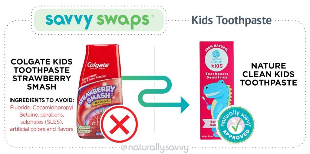 savvy swap kids toothpaste