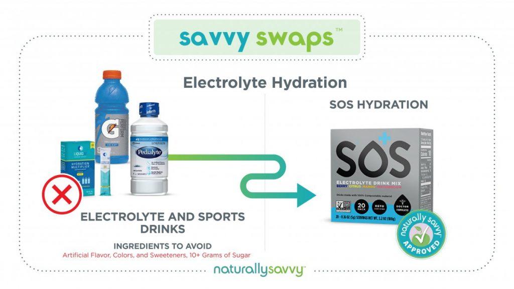 Savvy Swap Hydration